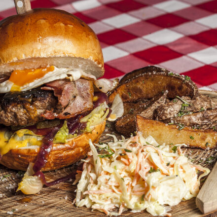 meat, burger, with, coleslaw, Canon EOS 5D MARK II