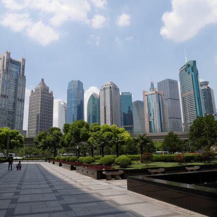 shanghai, pudong, tower, Panasonic DMC-GF8
