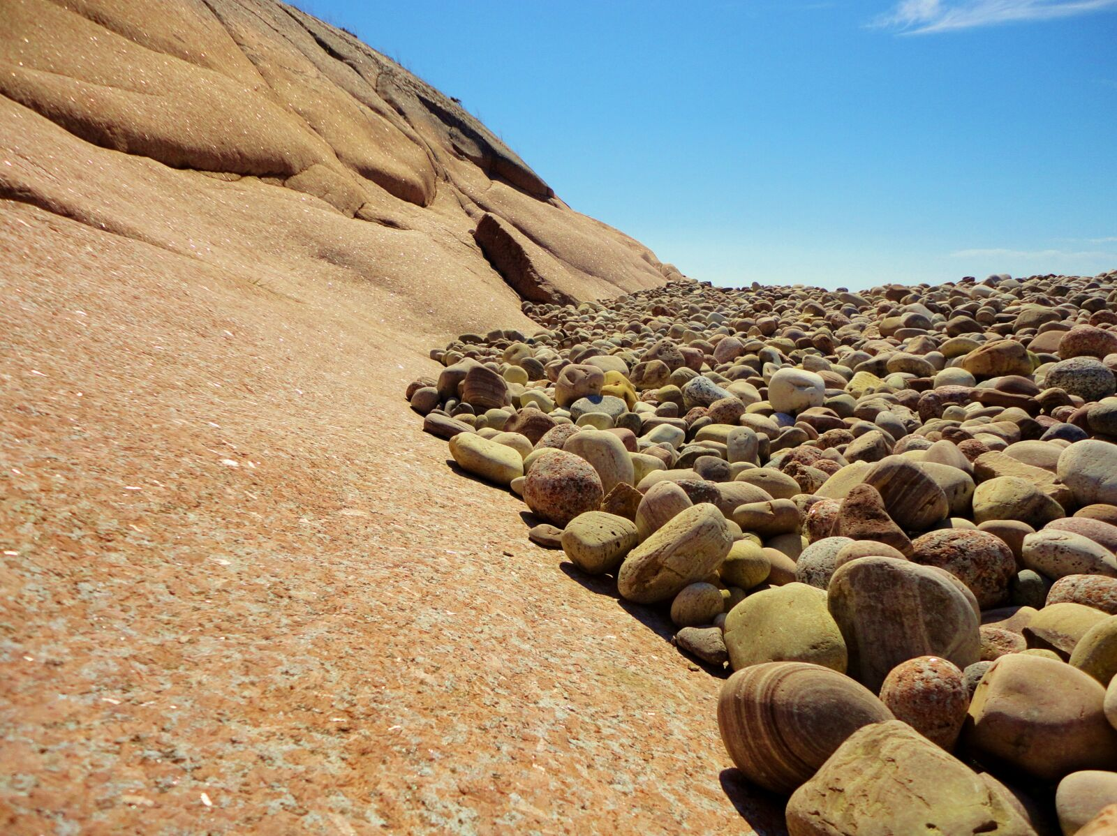 "Sony DSC-W350 sample photo. ""Stones, rock, pebbles"" photography"