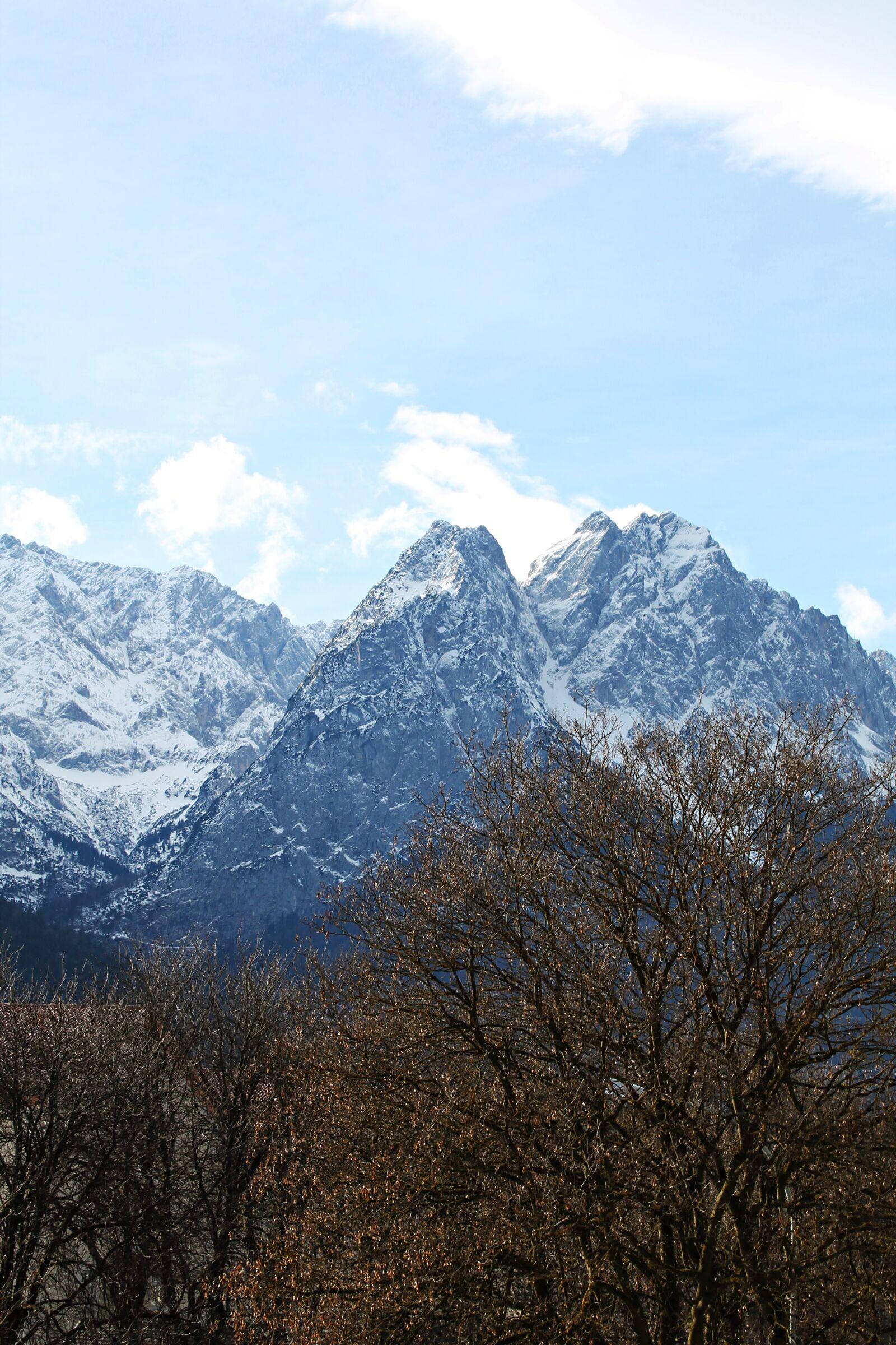 "Canon EOS 1100D (EOS Rebel T3 / EOS Kiss X50) sample photo. ""Zugspitze, mountains, garmisch partenkirchen"" photography"