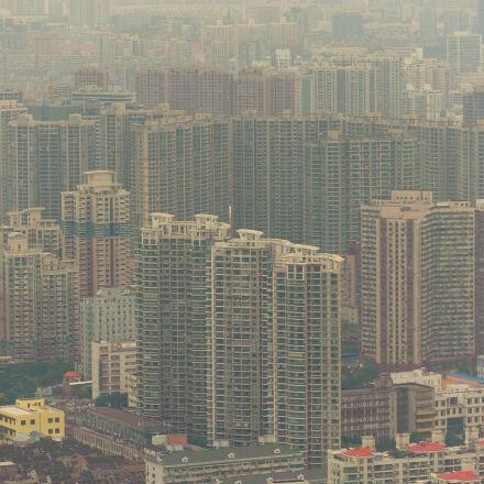 air, air, pollution, buildings, Nikon D700