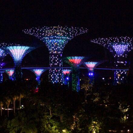 singapore, night, marina, Sony SLT-A65
