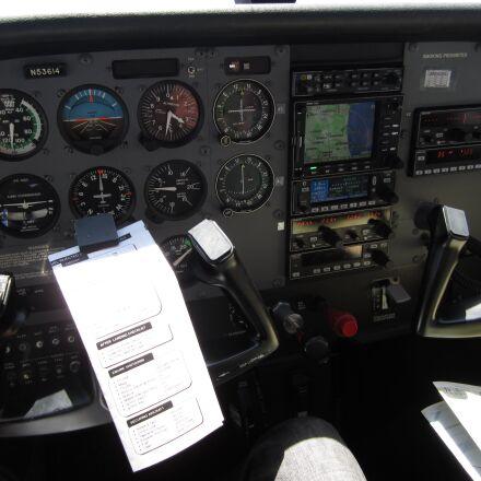 lax, airplane, cockpit, Canon POWERSHOT ELPH 100 HS