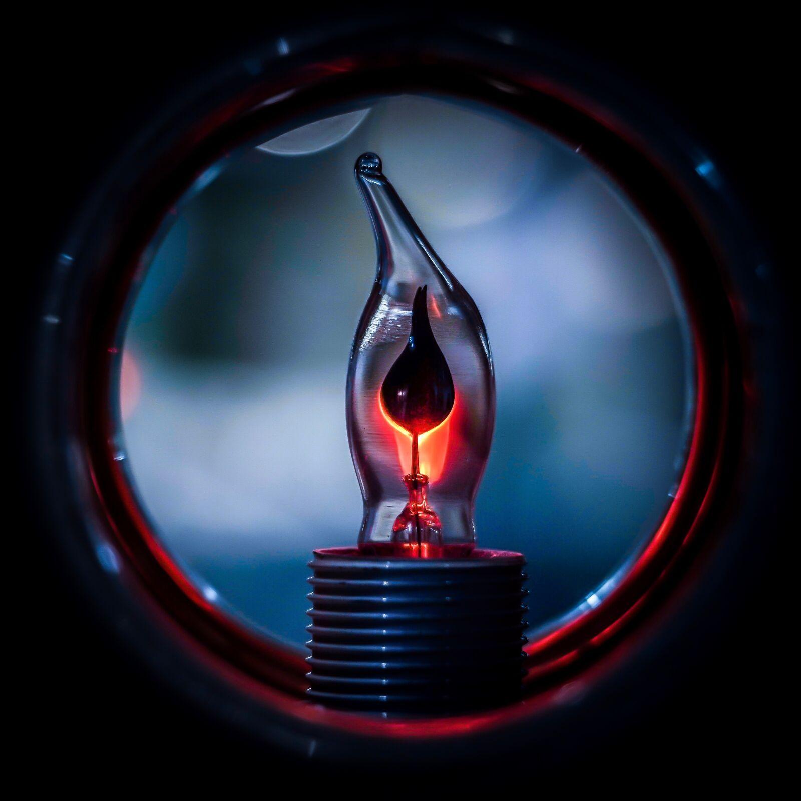 """Sony a7R III sample photo. """"Lamp, bulb, light"""" photography"""