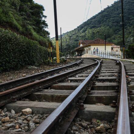 train, retro, old, Canon EOS 6D