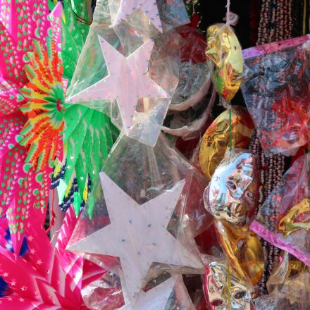 star, colorful, christmas, Canon EOS 600D