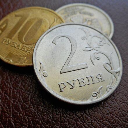 money, ruble, coins, Nikon COOLPIX S3600