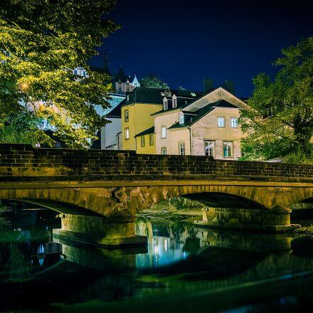 bridge, luxembourg, city, Canon EOS 5DS