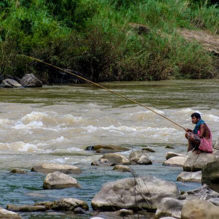 fishing, life, people, tide, Nikon D7200