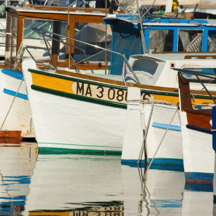 boat, barque, fishing-boat, Pentax K10D