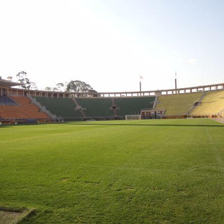 lawn, football stadium, pacaembu, Sony DSC-WX9