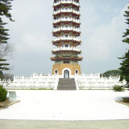 taiwan, pagoda, asia, Sony DSC-P73