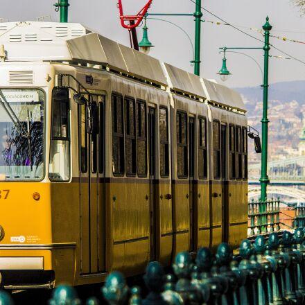 budapest, tram, city, Samsung NX5