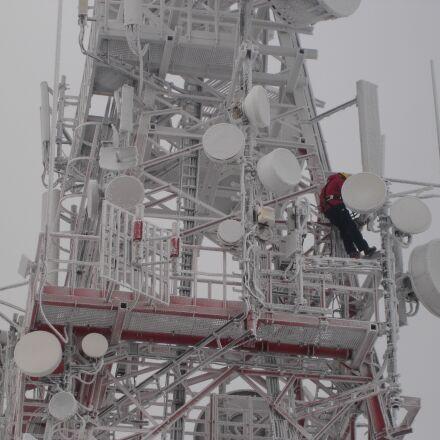 the mast, winter, snow, Sony DSC-N1