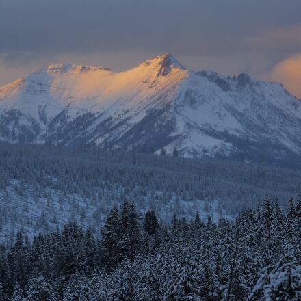 electric peak, sunset, twilight, Canon EOS 5D MARK III