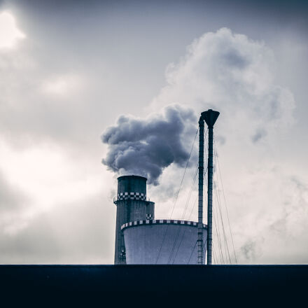 smoke, chimney, industrial, Canon EOS 550D