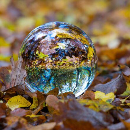 autumn, glass ball, ball, Samsung NX300M