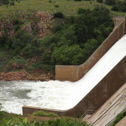 locks, waterfalls, dam, Fujifilm FinePix S4430