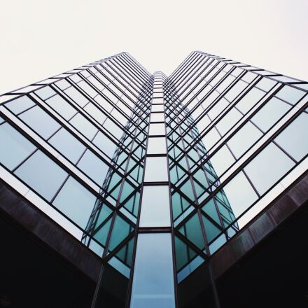 architecture, building, glass, Canon EOS 6D