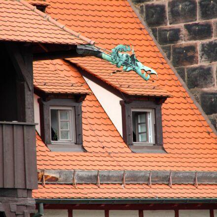 fachwerkhaus, city, historic center, Canon EOS 600D