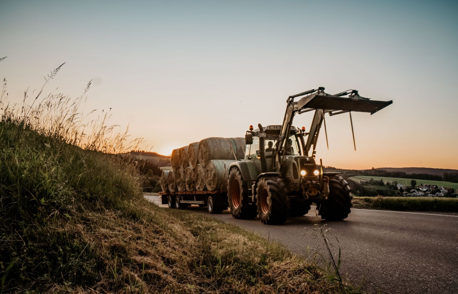 """Sony a6300 sample photo. """"Tractor, sun, agriculture"""" photography"""