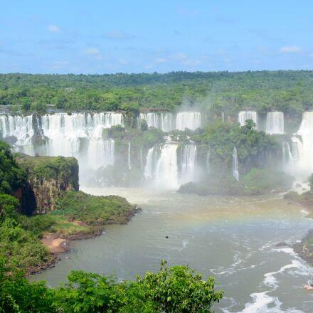 waterfalls, waterfall, brazil, Nikon 1 J4
