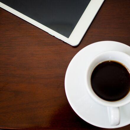 tea cup, coffee, tablet, Pentax K-50