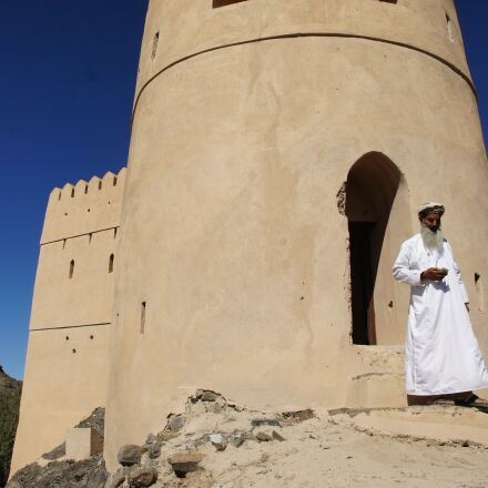 oman, fort, arabs, Sony NEX-5