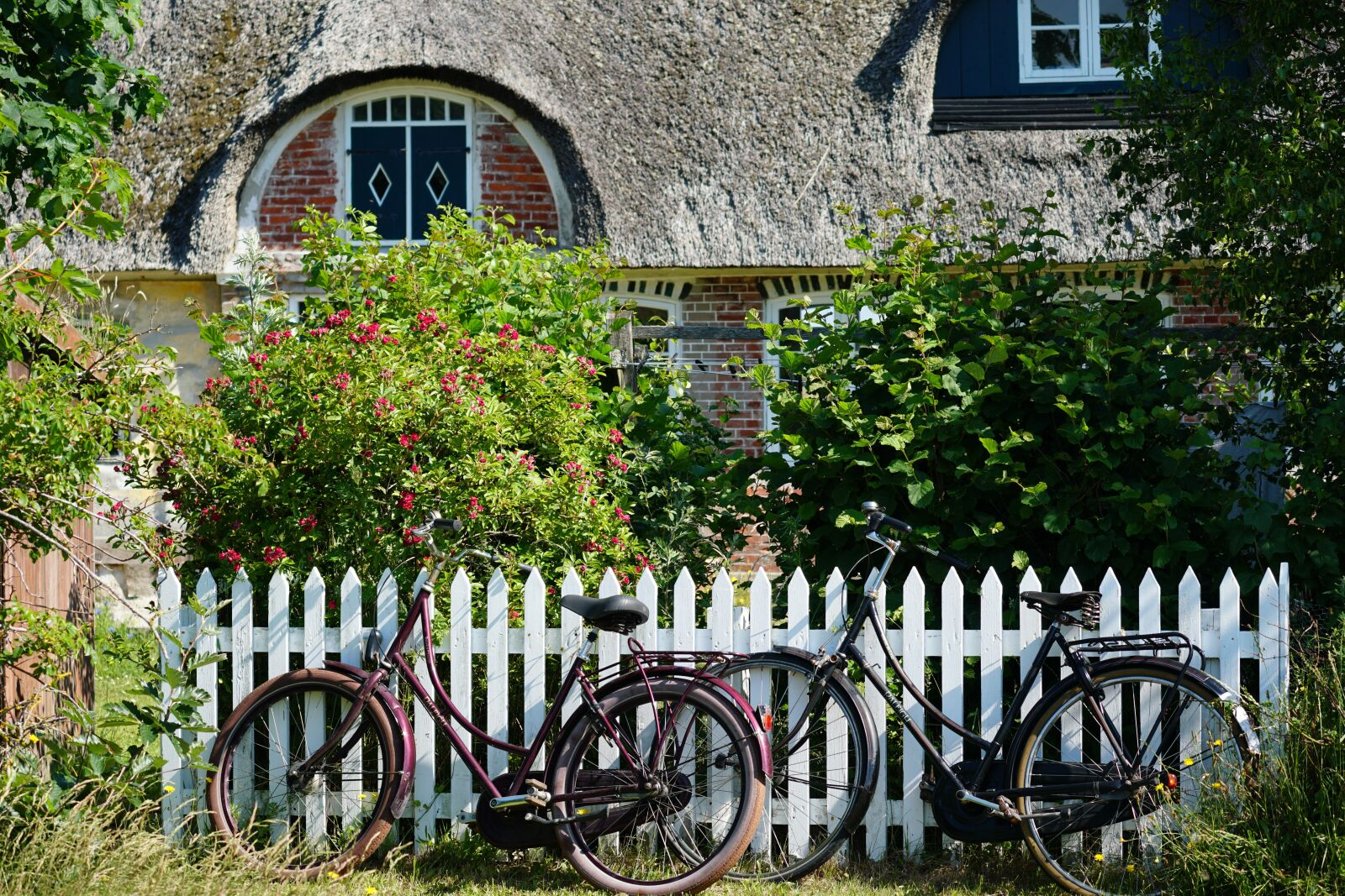 """Sony a6500 sample photo. """"Fanø, bicycles, romantic"""" photography"""