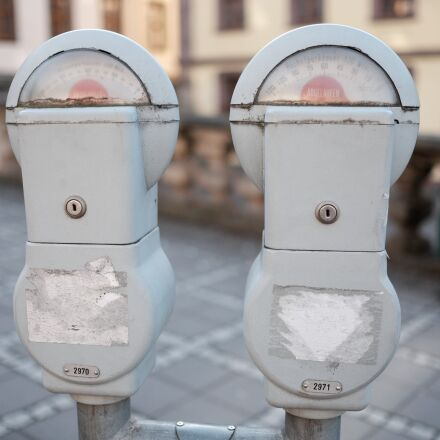 parking meter, park time, Fujifilm X-T1