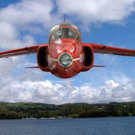airplane, air, flight, Fujifilm FinePix S5000