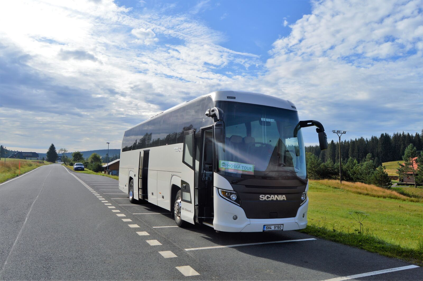 "Nikon D3200 sample photo. ""Bus, tour bus, tour"" photography"