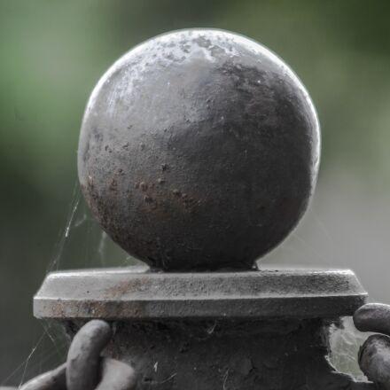 ball, iron, metal, Canon EOS 5D MARK II
