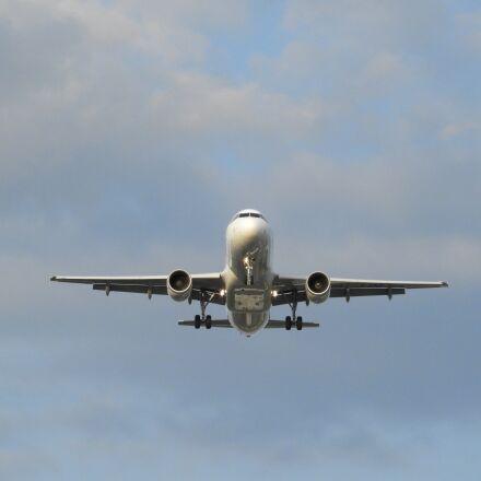 aircraft, landing, airport, Nikon COOLPIX B700