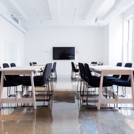chairs, conference room, empty, Canon EOS 5D MARK III