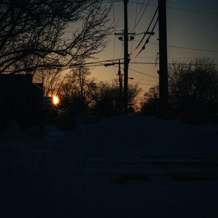 nature, outdoors, sun, sunset, Canon EOS 5D MARK II