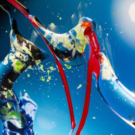 space, paint, blue, Canon EOS 6D