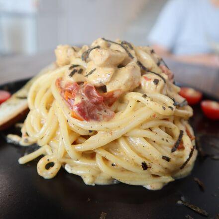 food, restaurant, surface, Canon EOS M50
