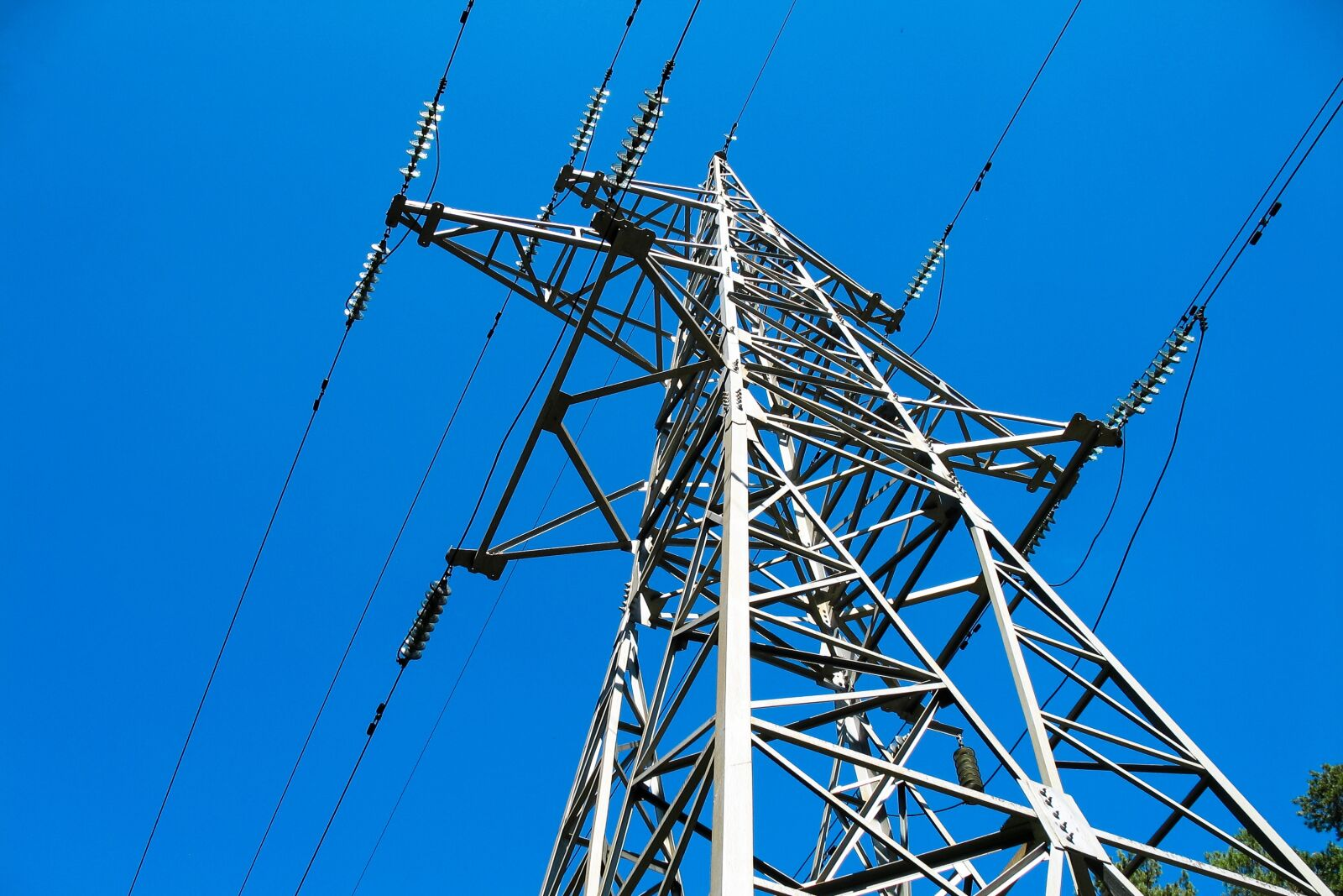 """Canon POWERSHOT A620 sample photo. """"Electricity, transmission towers, wire"""" photography"""