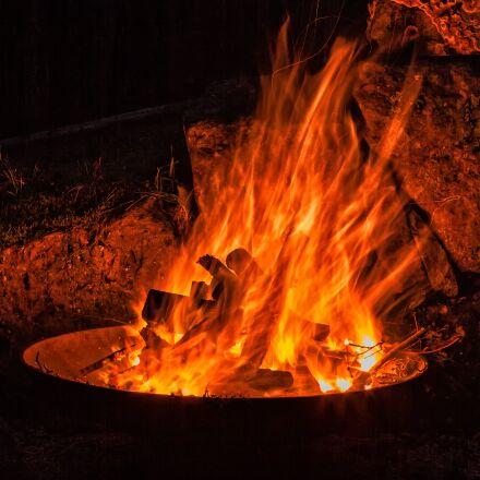fire, flame, heat, Canon EOS 5D MARK II