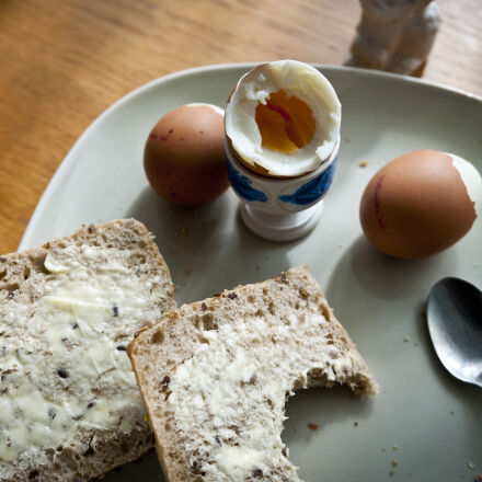 breakfast, eggs, food, Nikon D300S