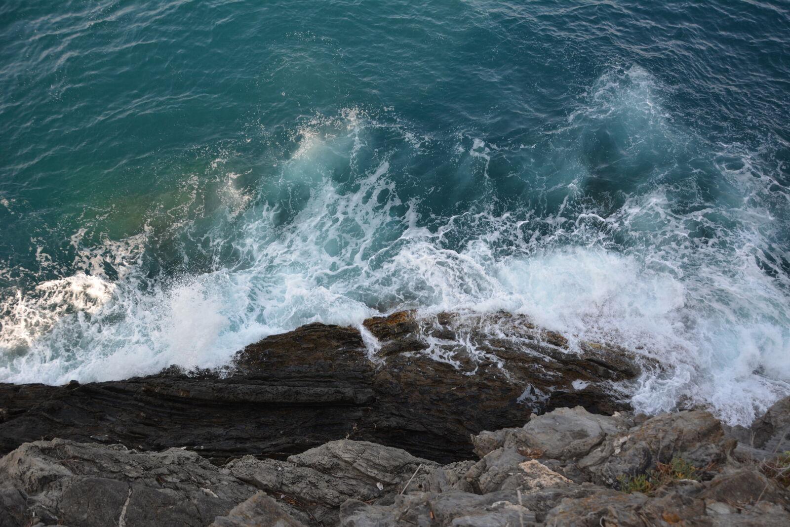 "Nikon D5200 sample photo. ""Sea, nature, wave"" photography"