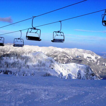 snow, mountain, Nikon COOLPIX S570