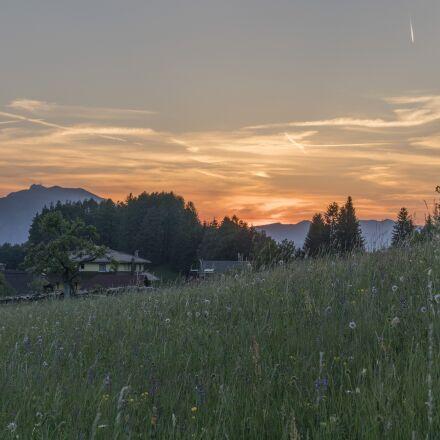 sunset, carinthia, finkenstein, Canon EOS M6