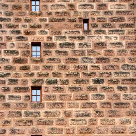 wall, window, city wall, Canon EOS 600D