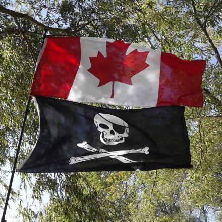 flag, canadian, pirate, Fujifilm FinePix S3400