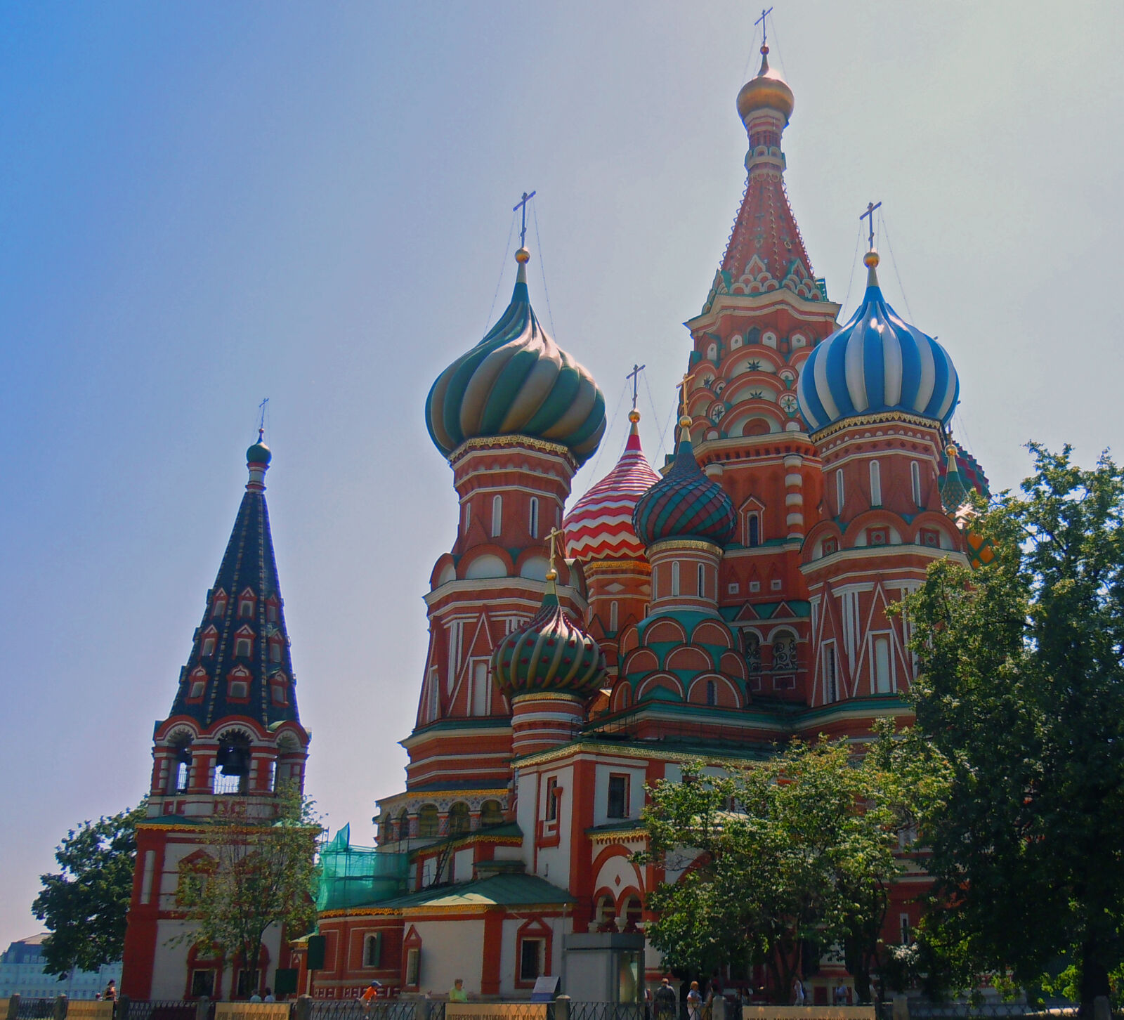 """Nikon Coolpix S8000 sample photo. """"Cathedral, moscow, st, basil"""" photography"""