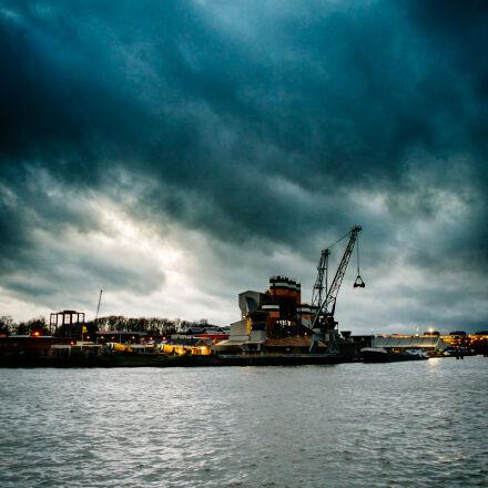 boat, harbour, utrecht, water, Fujifilm X-Pro1