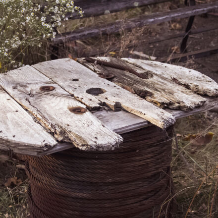 abandoned, fall, outdoors, rubble, Canon EOS 7D