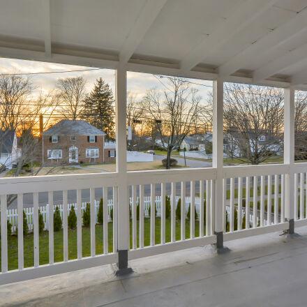 houses, sunset, terrace, Nikon D7100